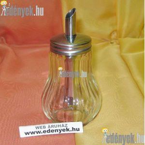 Adagolós üveg cukorszóró 200 ml