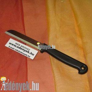 Uzsonnázó kés hosszú recés pengével