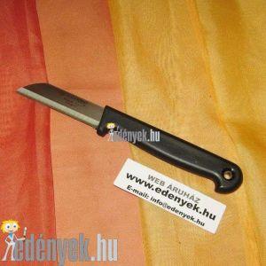 Uzsonnázó kés rövid sima pengével