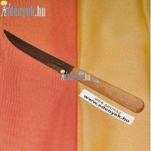Fanyelű steak kés