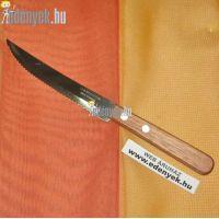 Steak kés - Recés élű kés
