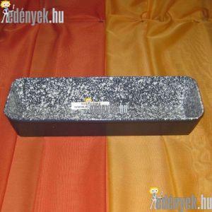Zománcozott kalács és kenyérsütő forma 31x11 cm