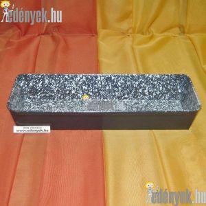 Zománcozott kalács és kenyérsütő forma 35x14 cm