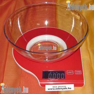 Digitális konyhai mérleg 5 kg-os