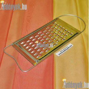 Lapos almareszelő, krumplireszelő, tökreszelő 29×11 cm
