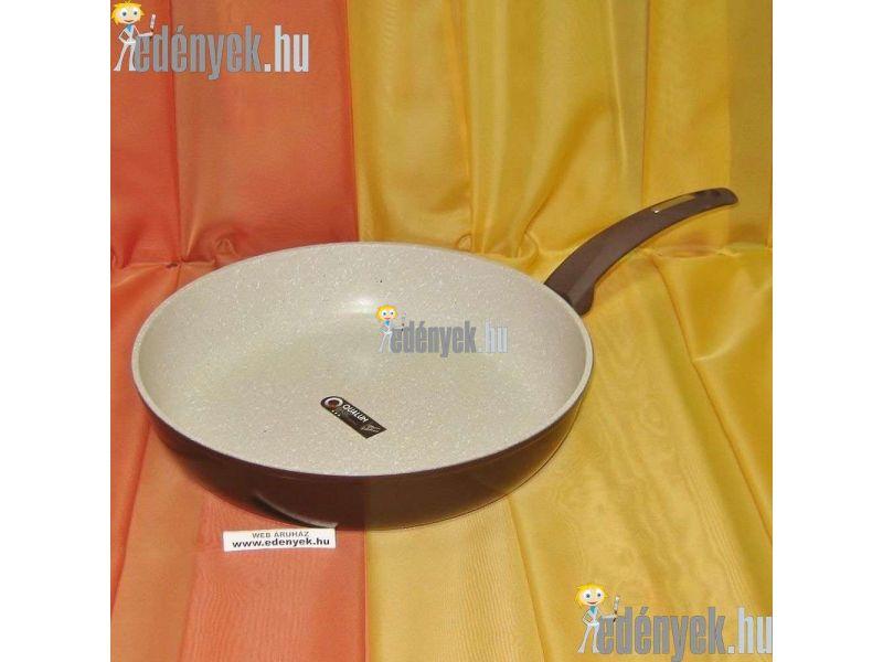 Gránitbevonatos indukciós nyeles serpenyő 30 cm