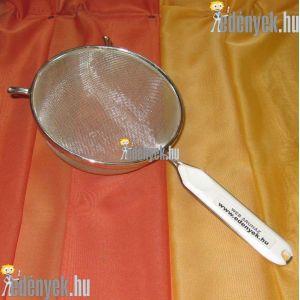 Levesszűrő, teaszűrő műanyagbetétes nyéllel 16D