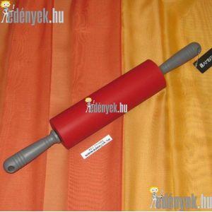Forgónyeles szilikon sodrófa nyújtófa 46 cm