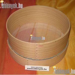 Fakeretes lisztszita 20 cm
