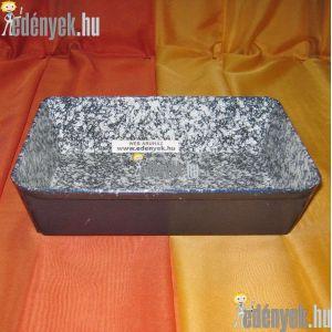 Zománcozott sütőtepsi 22x17 cm