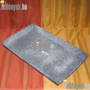 Zománcozott malacsütő tepsi 64x40 cm