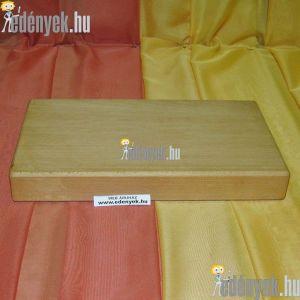 Fa vágódeszka, hentes vágódeszka 33×20×4 cm