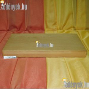 Fa vágódeszka, hentes vágódeszka 44×27×4 cm