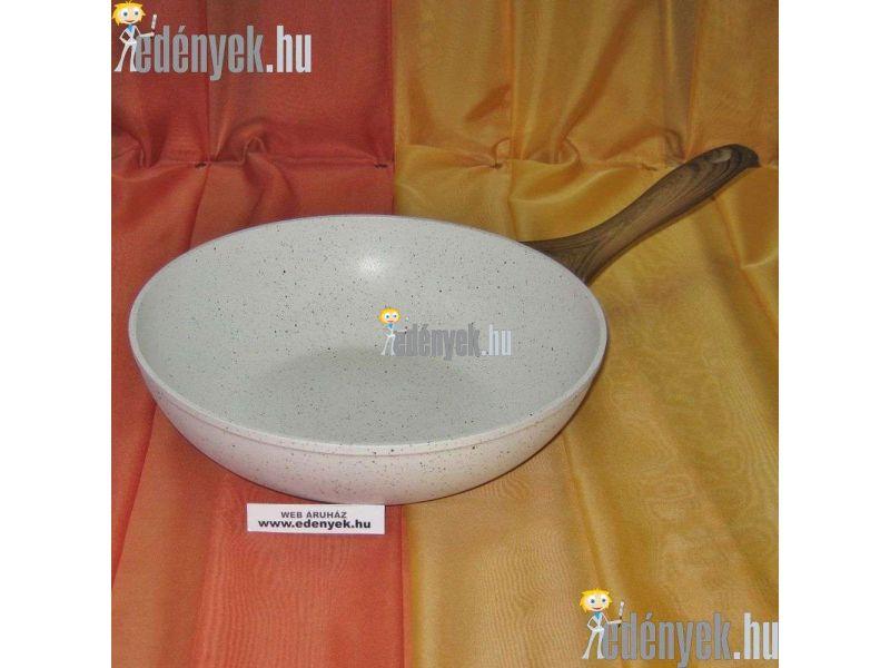 Gránitbevonatos indukciós wok 26 cm