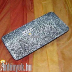 Zománcozott kalács és kenyérsütő forma 35x16 cm
